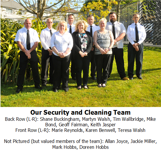 Security and Cleaning Team